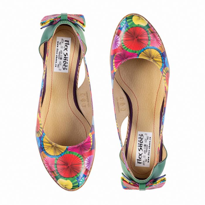 Pantofi dama balerini cod MAT-256 2
