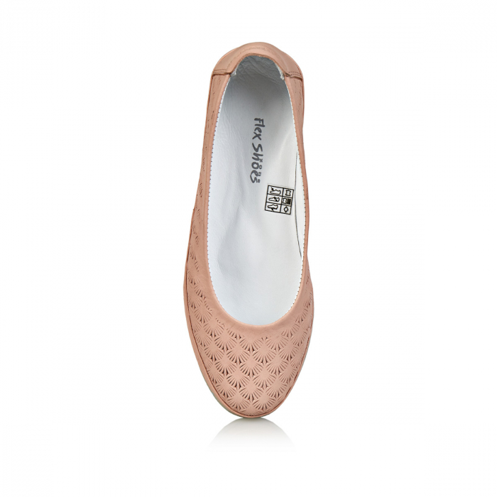 Pantofi dama balerini COD-258 - Flex-Shoes 4