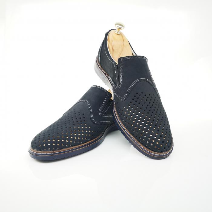 Pantofi de barbati perforati COD-398 3