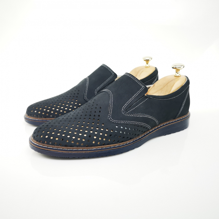 Pantofi de barbati perforati COD-398 4