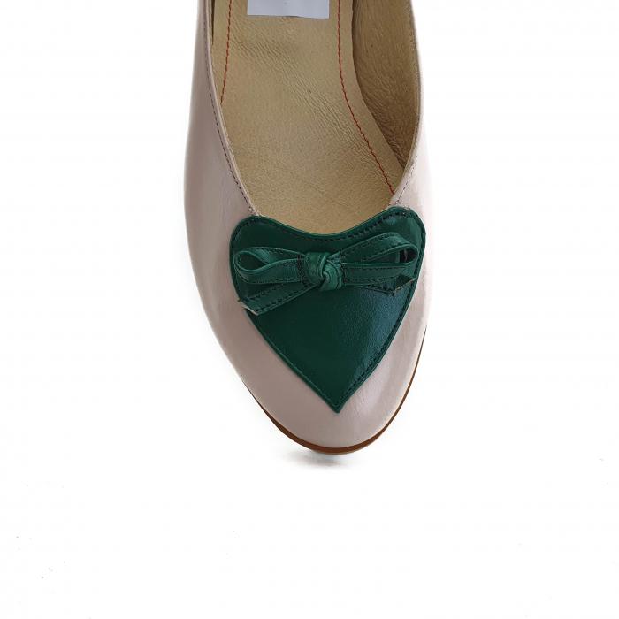 Pantofi dama balerine confort din piele naturala COD-873 [3]