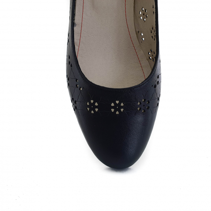 Pantofi dama casual confort din piele naturala COD-876 [3]