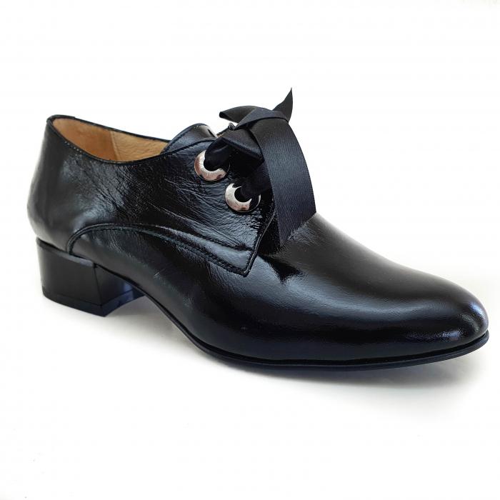 Pantofi dama casual confort din piele naturala COD-877 [0]