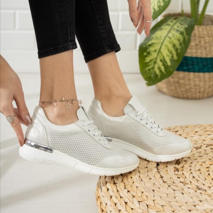 Pantofi dama casual confort din piele naturala COD-817 3