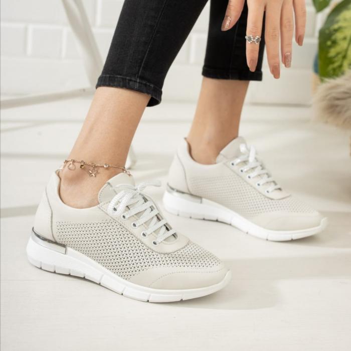 Pantofi dama casual confort din piele naturala COD-817 1