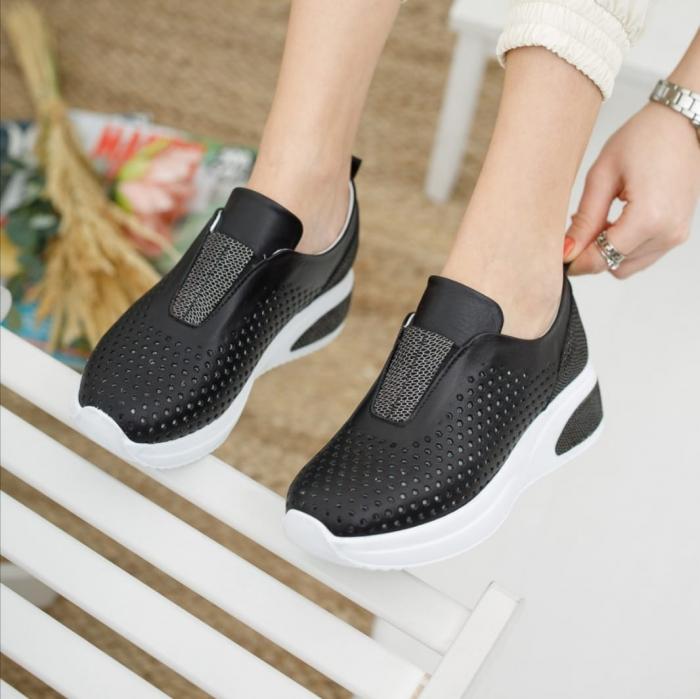 Pantofi dama casual confort din piele naturala COD-819 0