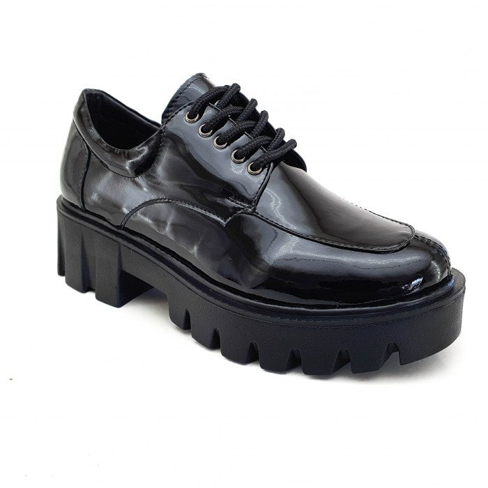 Pantofi dama casual confort din piele naturala COD-820 0