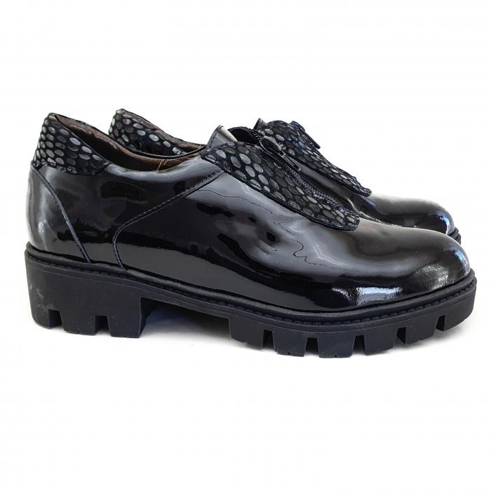 Pantofi dama casual confort din piele naturala COD-832 1
