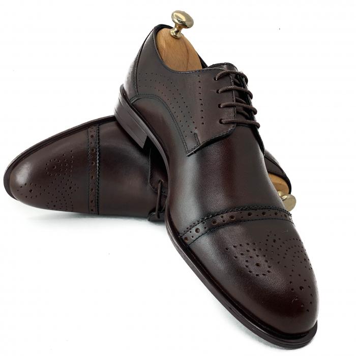Pantofi de barbati eleganti din piele naturala COD-888 [3]