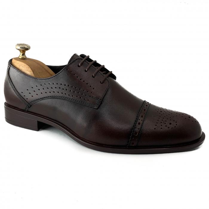Pantofi de barbati eleganti din piele naturala COD-888 [0]