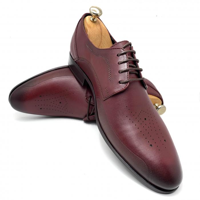 Pantofi de barbati eleganti din piele naturala COD-889 [3]
