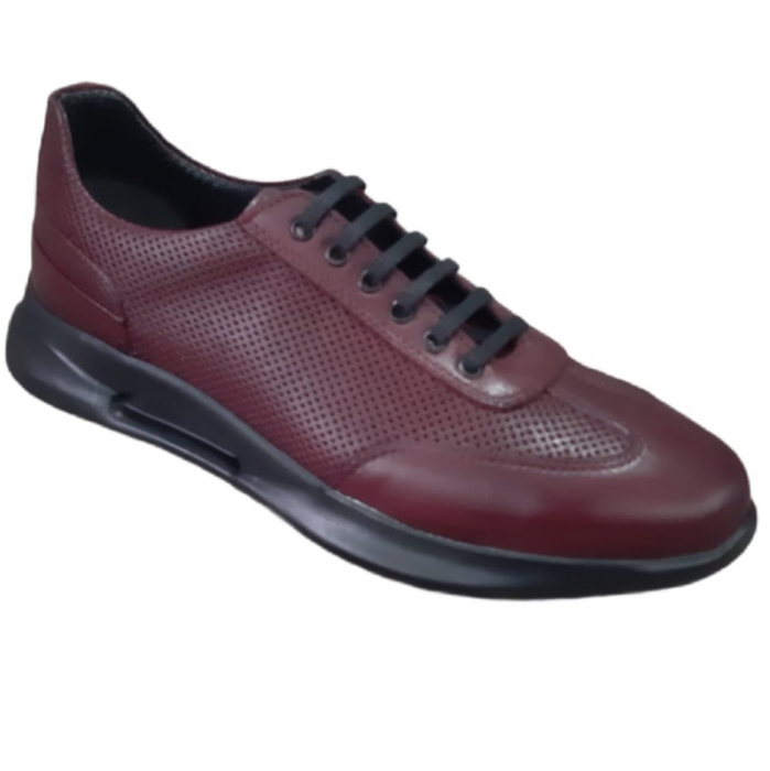 Pantofi sport de bărbați din piele naturala cod-701 0