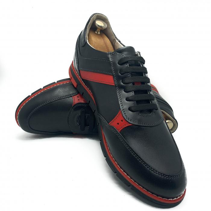 Pantofi sport de barbati din piele natural COD-896 [3]
