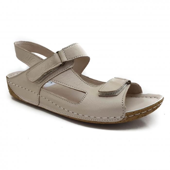 Sandale dama casual confort COD-865 BEJ [0]