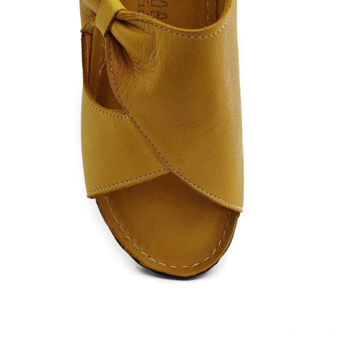 Sandale dama casual confort COD MU/505 GALBEN 3