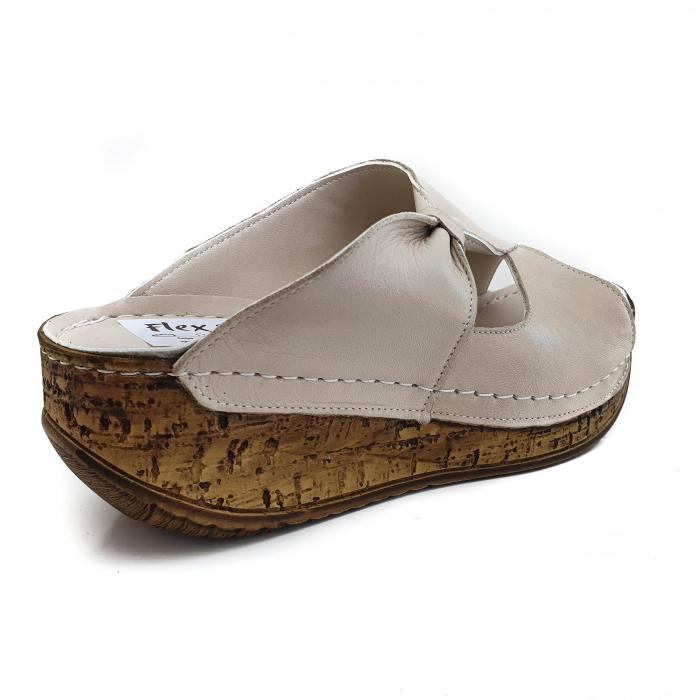 Sandale dama casual confort din piele naturala COD-869 [2]