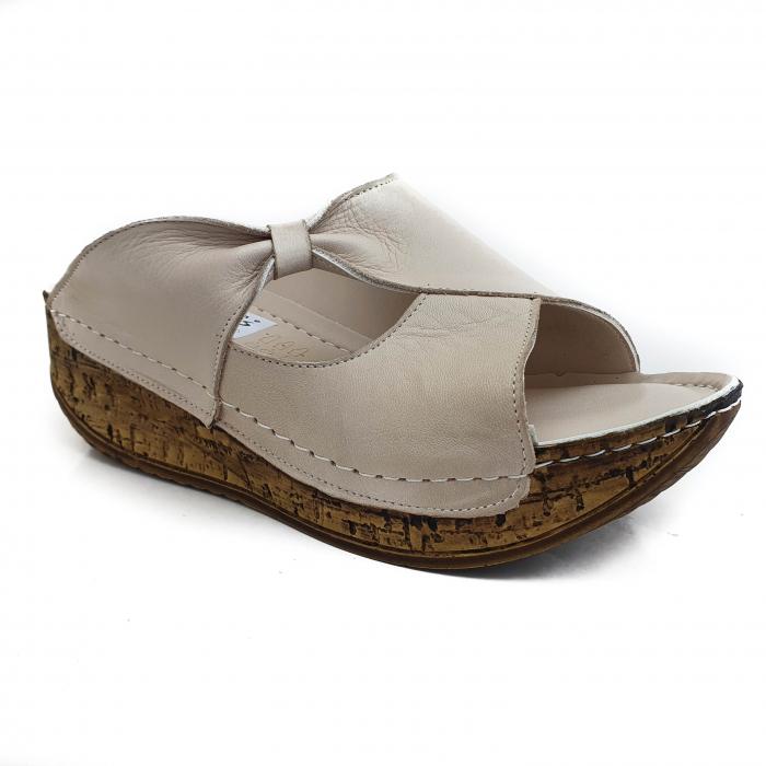 Sandale dama casual confort din piele naturala COD-869 [0]
