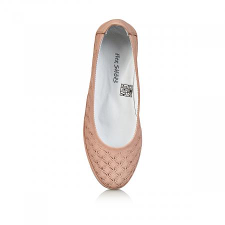 Pantofi dama balerini COD-258 - Flex-Shoes4