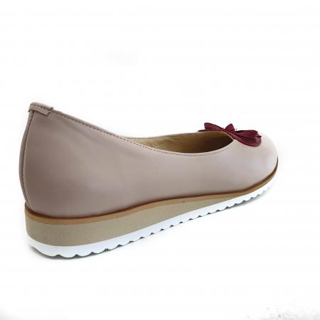 Pantofi dama balerine confort din piele naturala COD-874 [2]