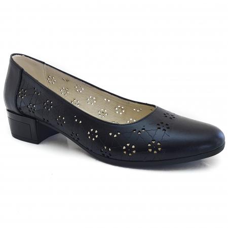 Pantofi dama casual confort din piele naturala COD-876 [0]
