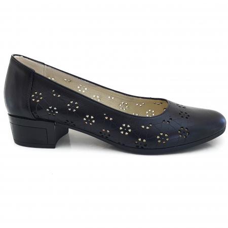 Pantofi dama casual confort din piele naturala COD-876 [1]