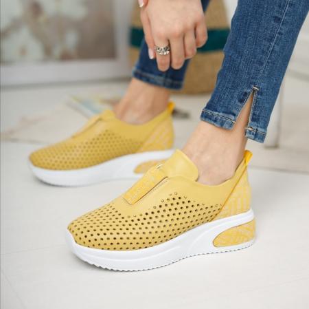 Pantofi dama casual confort din piele naturala COD-816 [1]