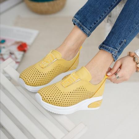 Pantofi dama casual confort din piele naturala COD-816 [2]