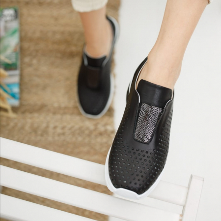 Pantofi dama casual confort din piele naturala COD-8192