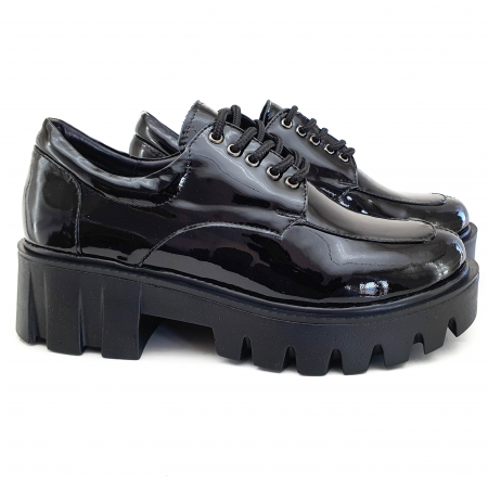 Pantofi dama casual confort din piele naturala COD-8201