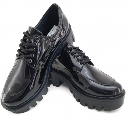 Pantofi dama casual confort din piele naturala COD-8202