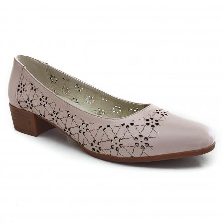 Pantofi dama casual confort din piele naturala COD-8310