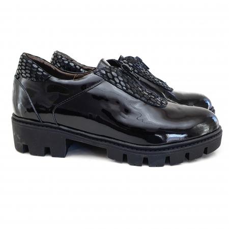 Pantofi dama casual confort din piele naturala COD-8321
