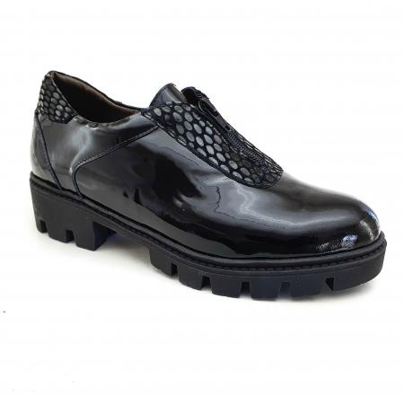 Pantofi dama casual confort din piele naturala COD-8320