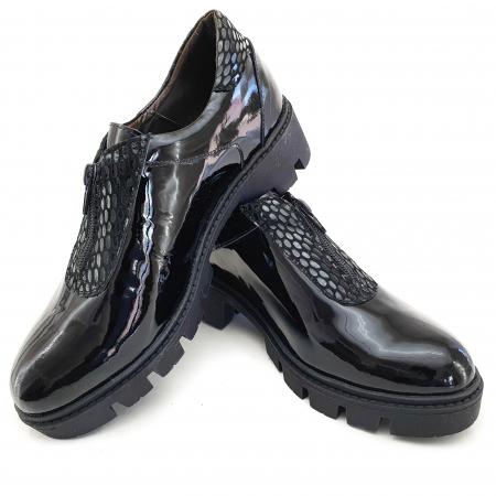 Pantofi dama casual confort din piele naturala COD-8323