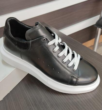 Pantofi sport de bărbați din piele naturala COD-7210