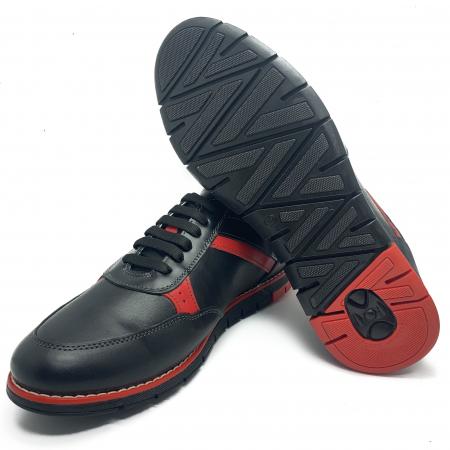 Pantofi sport de barbati din piele natural COD-896 [2]
