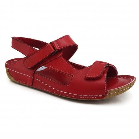 Sandale dama casual confort COD 398 ROSU0