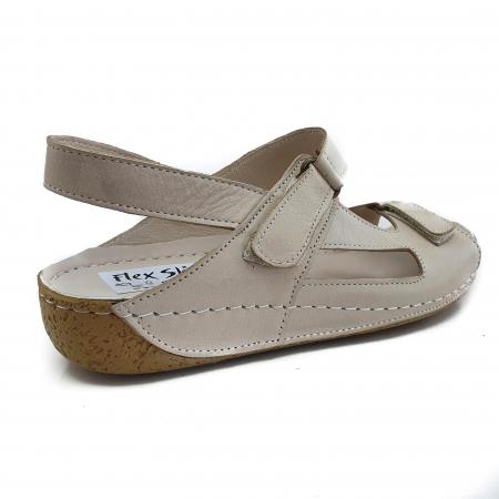 Sandale dama casual confort COD-865 BEJ [2]