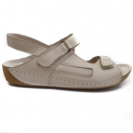 Sandale dama casual confort COD-865 BEJ [1]