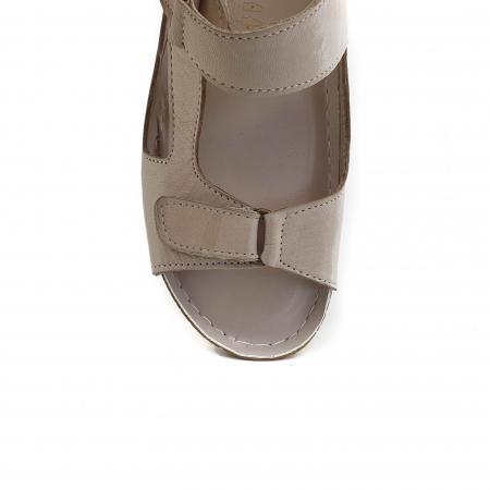 Sandale dama casual confort COD-865 BEJ [3]