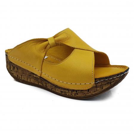 Sandale dama casual confort COD MU/505 GALBEN0
