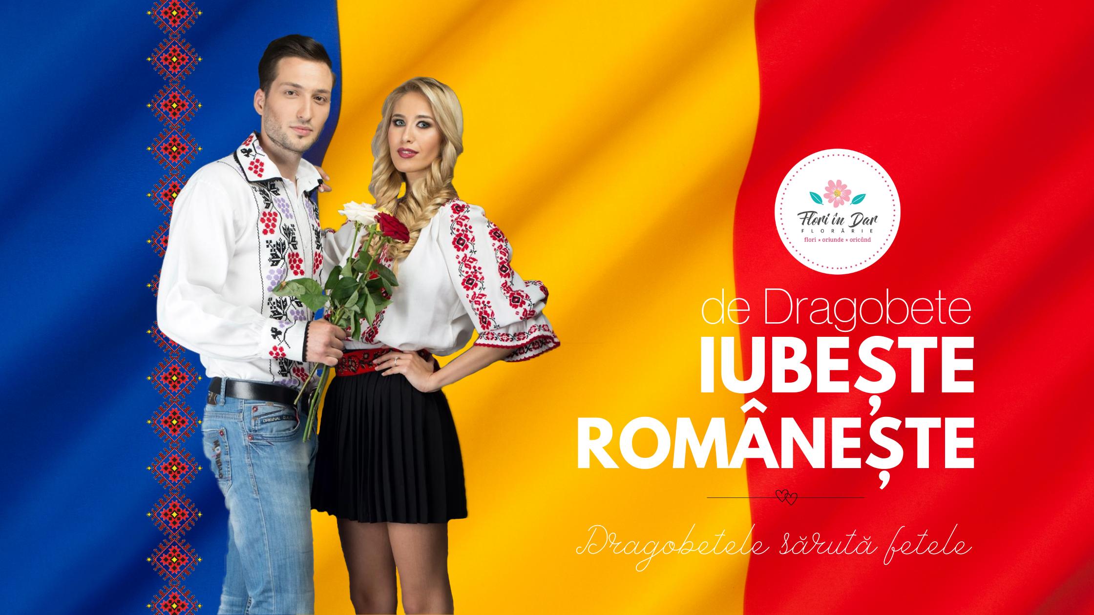 Trimite flori de Dragobete - Flori in Dar florarie online Roman