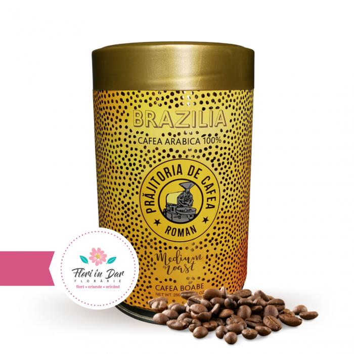 Cafea de origine Brazilia cutie 250g [0]