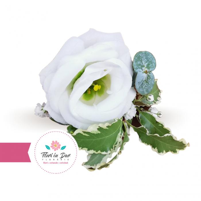Cocarde nunta flori naturale florarie Roman [0]