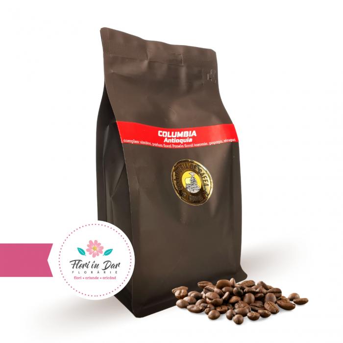 Cafea de origine Columbia Antioguia punga neagra 250g [0]