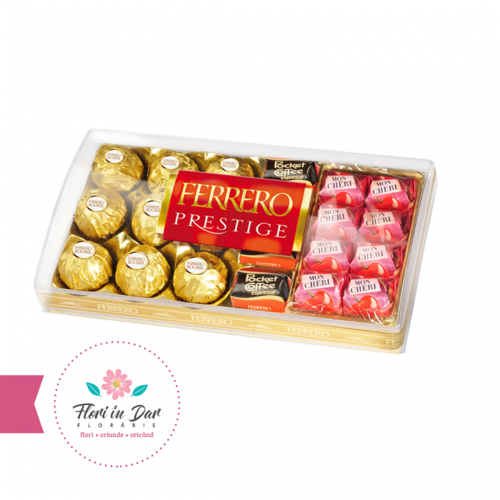 Ferrero Praline Prestige 21 bomboane flroarie roman livrare domiciliu [0]