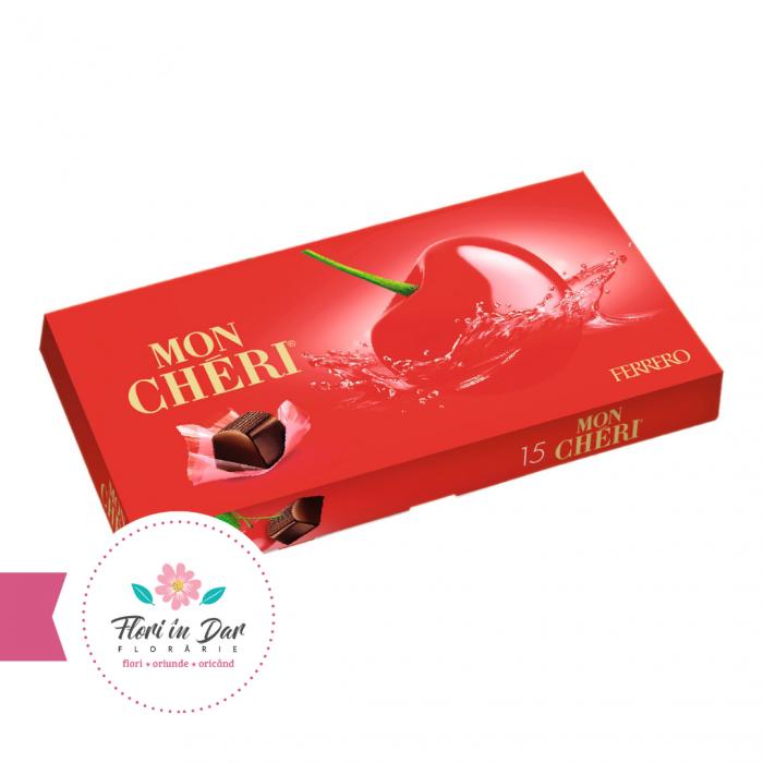 Mon Cheri praline de ciocolata 15 bomboane florarie Roman [0]