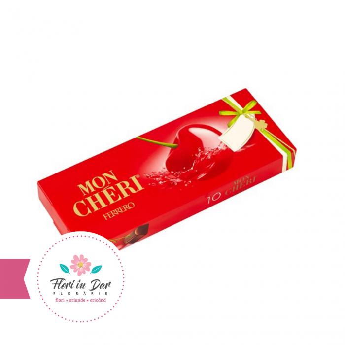 Mon Cheri praline de ciocolata 10 bomboane florarie Roman [0]