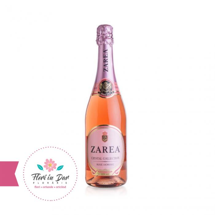 Zarea crystal collection vin spumant demisec rose [0]
