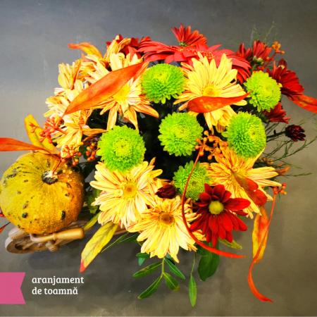 Aranjmanete florale toamna cu livrare gratuita in Roman [2]